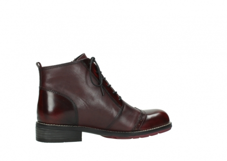 wolky lace up boots 04440 millstream 39510 burgundy combi leather_12