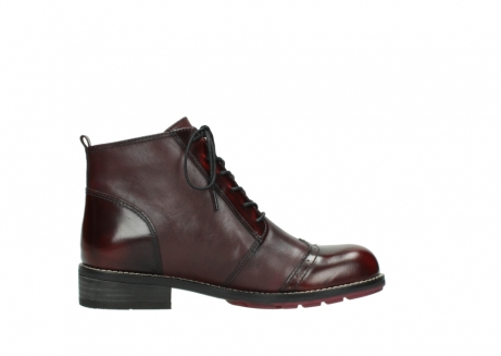 wolky lace up boots 04440 millstream 39510 burgundy combi leather_13