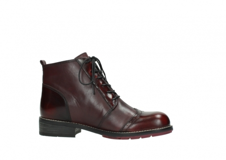 wolky lace up boots 04440 millstream 39510 burgundy combi leather_14