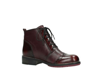 wolky lace up boots 04440 millstream 39510 burgundy combi leather_15