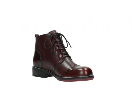 wolky lace up boots 04440 millstream 39510 burgundy combi leather_16