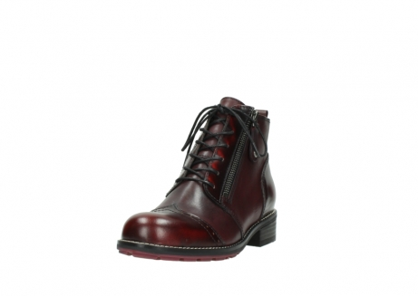 wolky lace up boots 04440 millstream 39510 burgundy combi leather_21