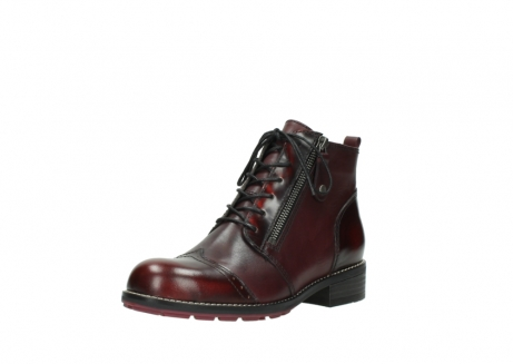 wolky lace up boots 04440 millstream 39510 burgundy combi leather_22