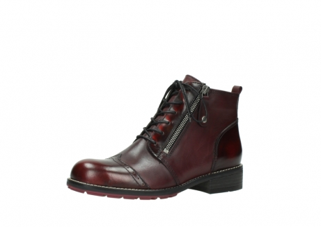 wolky lace up boots 04440 millstream 39510 burgundy combi leather_23