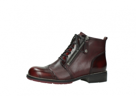wolky lace up boots 04440 millstream 39510 burgundy combi leather_24