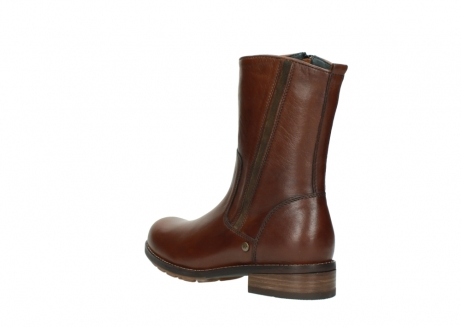 wolky mid calf boots 04441 russell 20430 cognac leather_4