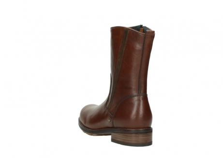 wolky mid calf boots 04441 russell 20430 cognac leather_5