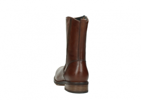 wolky mid calf boots 04441 russell 20430 cognac leather_6