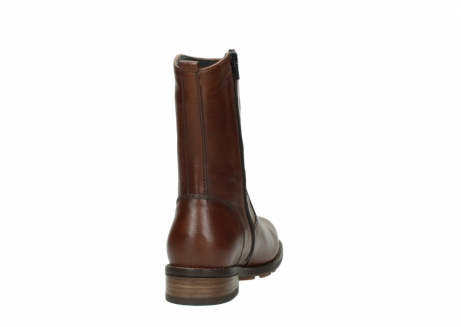 wolky mid calf boots 04441 russell 20430 cognac leather_8