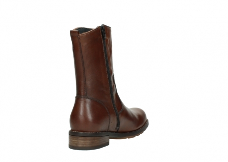 wolky mid calf boots 04441 russell 20430 cognac leather_9