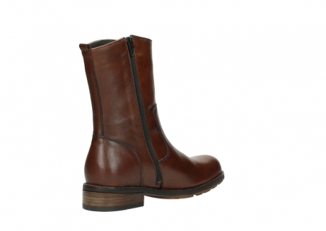 wolky mid calf boots 04441 russell 20430 cognac leather_10