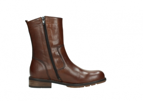 wolky mid calf boots 04441 russell 20430 cognac leather_13