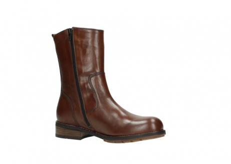 wolky mid calf boots 04441 russell 20430 cognac leather_15
