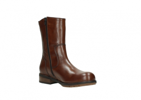 wolky mid calf boots 04441 russell 20430 cognac leather_16