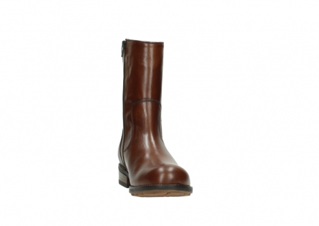 wolky mid calf boots 04441 russell 20430 cognac leather_18