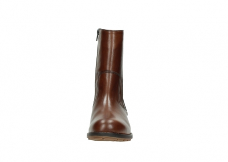 wolky mid calf boots 04441 russell 20430 cognac leather_19