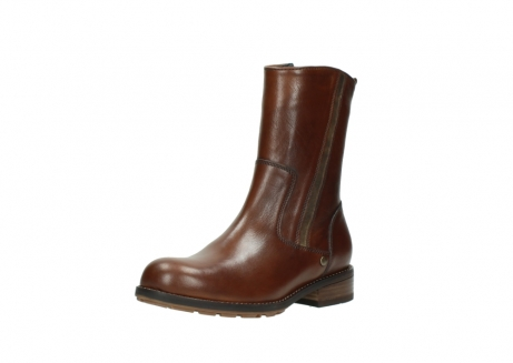 wolky mid calf boots 04441 russell 20430 cognac leather_22