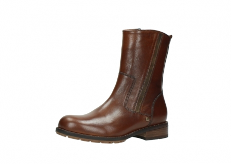 wolky mid calf boots 04441 russell 20430 cognac leather_23