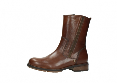 wolky mid calf boots 04441 russell 20430 cognac leather_24