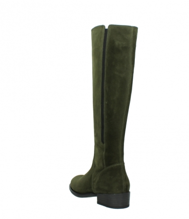 wolky high boots 04513 earl 40730 forest green suede_5