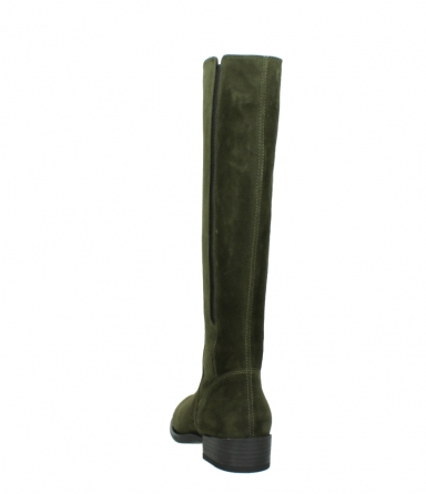 wolky high boots 04513 earl 40730 forest green suede_6