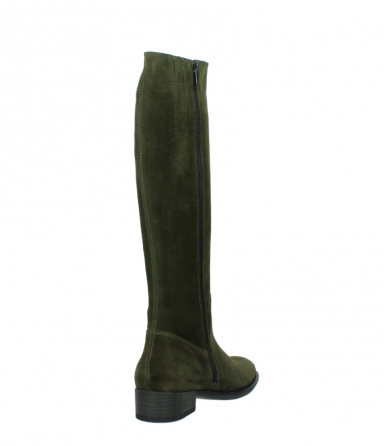 wolky high boots 04513 earl 40730 forest green suede_9