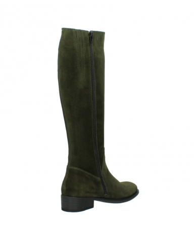 wolky high boots 04513 earl 40730 forest green suede_10