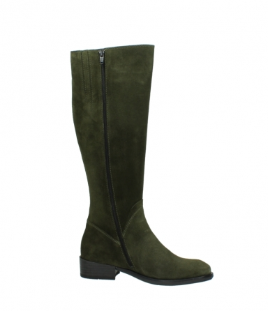 wolky high boots 04513 earl 40730 forest green suede_14