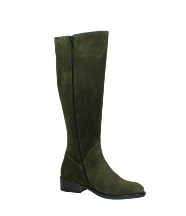 wolky high boots 04513 earl 40730 forest green suede_15