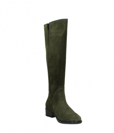 wolky high boots 04513 earl 40730 forest green suede_17