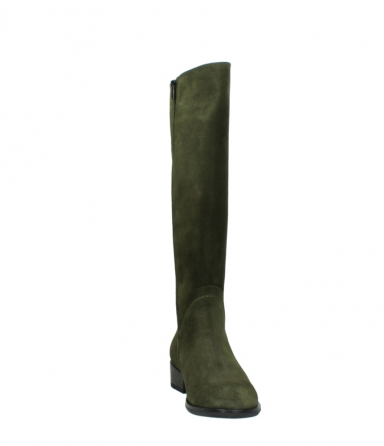wolky high boots 04513 earl 40730 forest green suede_18