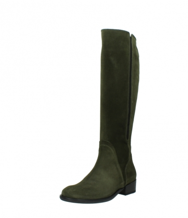 wolky high boots 04513 earl 40730 forest green suede_22