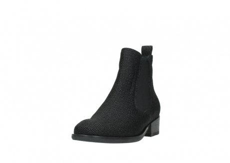 wolky ankle boots 04517 masala 90003 black printed suede_21