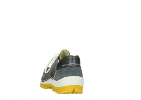 wolky lace up shoes 04701 fly 70209 grey leather yellow sole_6
