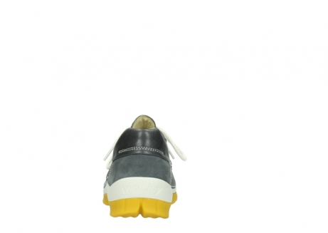 wolky lace up shoes 04701 fly 70209 grey leather yellow sole_7