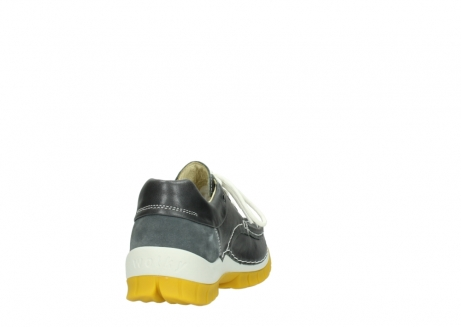 wolky lace up shoes 04701 fly 70209 grey leather yellow sole_8