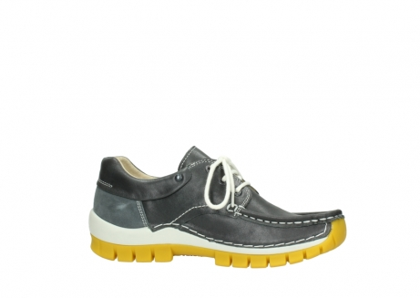 wolky lace up shoes 04701 fly 70209 grey leather yellow sole_14