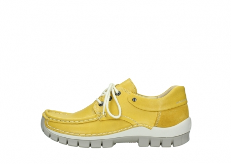 wolky lace up shoes 04701 fly 70900 yellow leather_1