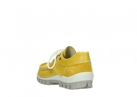 wolky chaussures a lacets 04701 fly 70900 cuir jaune_5