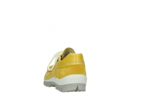 wolky chaussures a lacets 04701 fly 70900 cuir jaune_6