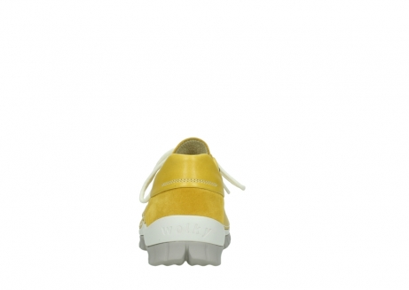wolky lace up shoes 04701 fly 70900 yellow leather_7