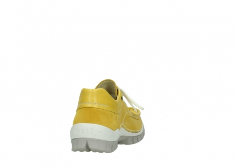 wolky chaussures a lacets 04701 fly 70900 cuir jaune_8
