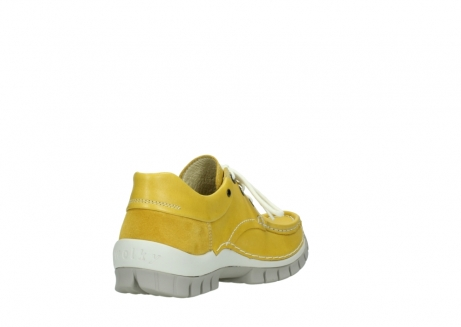 wolky lace up shoes 04701 fly 70900 yellow leather_9