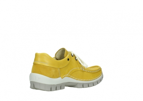 wolky chaussures a lacets 04701 fly 70900 cuir jaune_10