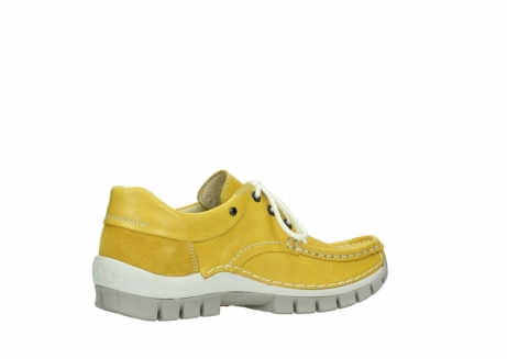 wolky chaussures a lacets 04701 fly 70900 cuir jaune_11