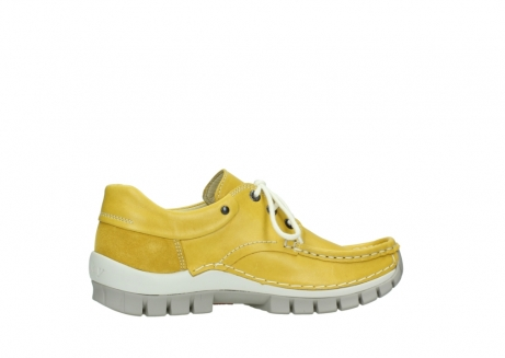 wolky lace up shoes 04701 fly 70900 yellow leather_12