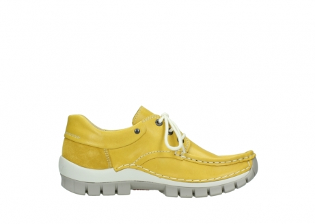 wolky lace up shoes 04701 fly 70900 yellow leather_13