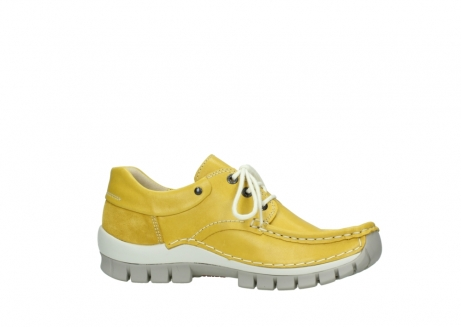 wolky lace up shoes 04701 fly 70900 yellow leather_14