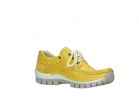 wolky lace up shoes 04701 fly 70900 yellow leather_15