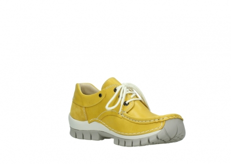 wolky lace up shoes 04701 fly 70900 yellow leather_16
